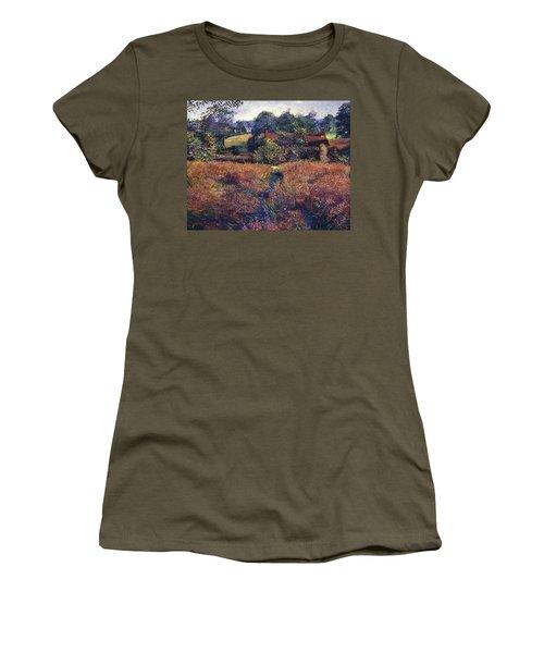 English Country Fields Women's T-Shirt