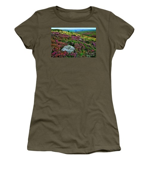 English Moorland Heather Women's T-Shirt