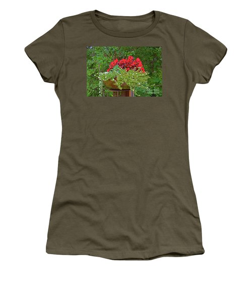 Enjoy The Garden Women's T-Shirt (Athletic Fit)