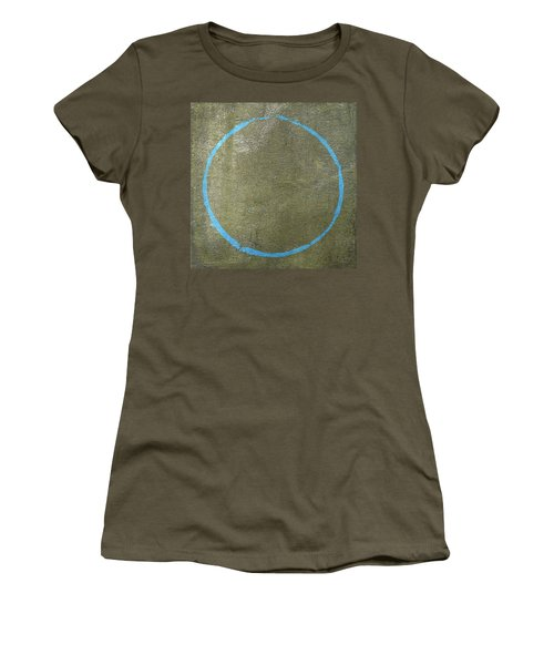 Women's T-Shirt (Junior Cut) featuring the digital art Enso 2017-15 by Julie Niemela