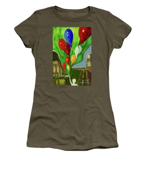 Escape Women's T-Shirt (Junior Cut) by Paul McKey