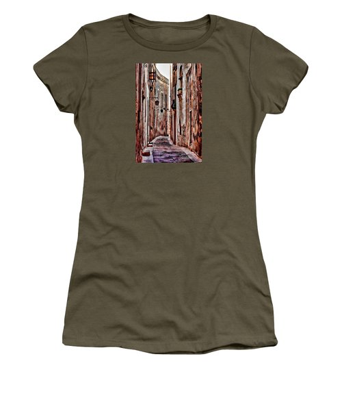 Etched In Stone Women's T-Shirt (Junior Cut) by Tom Prendergast