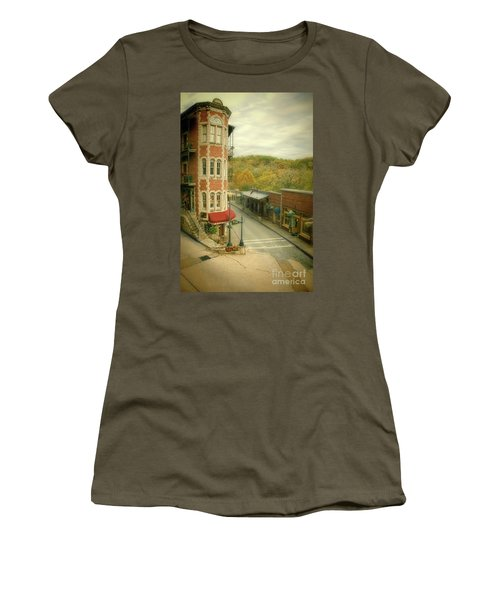Women's T-Shirt (Junior Cut) featuring the photograph Eureka Springs by Jill Battaglia
