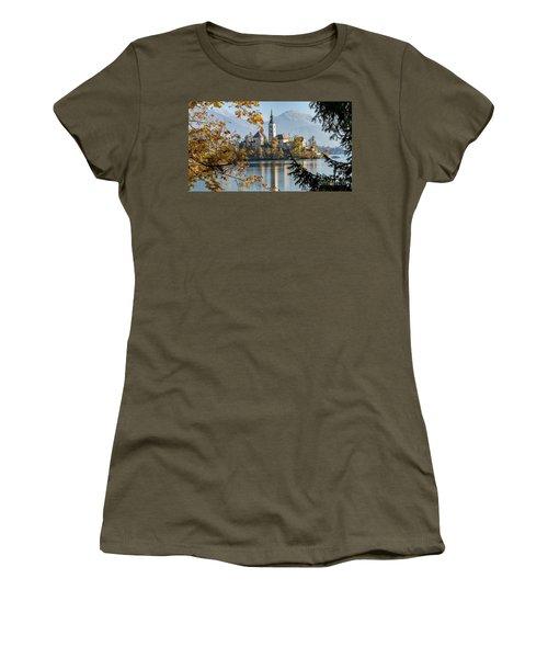 European Beauty Women's T-Shirt (Junior Cut) by Rod Jellison