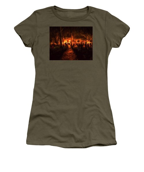 Evening Gathering Women's T-Shirt