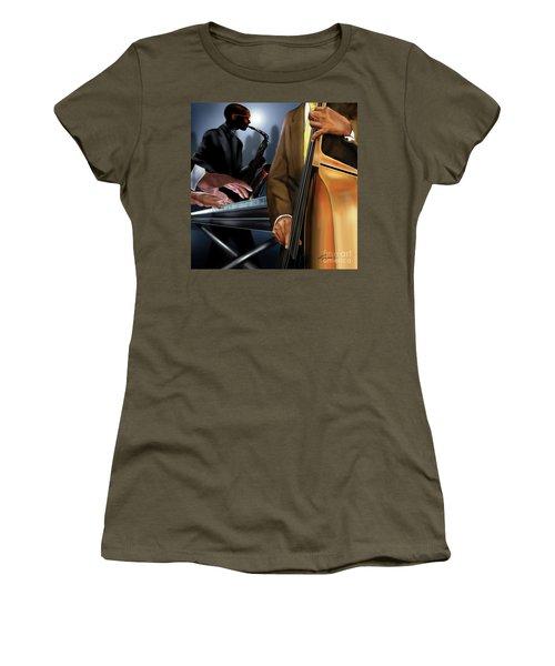 Evening Jazz Crowd Pleaser Women's T-Shirt