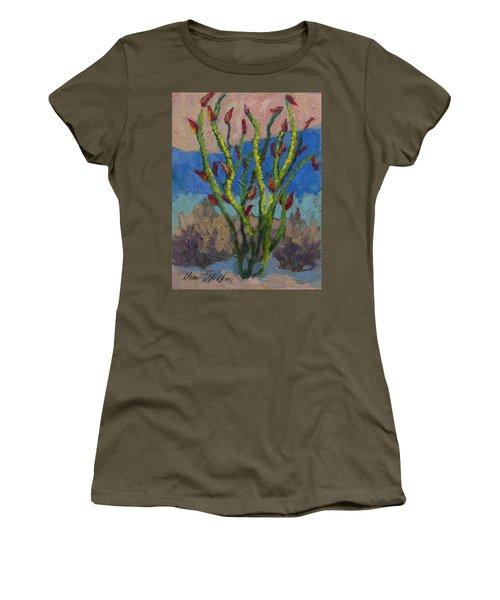 Evening Ocotillo Women's T-Shirt