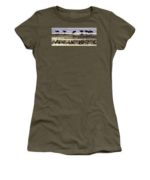 Evening Silhouette Women's T-Shirt