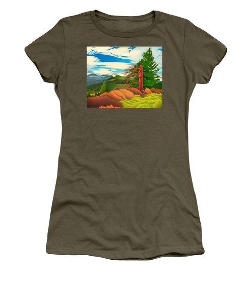 Evergreen Overlook Women's T-Shirt