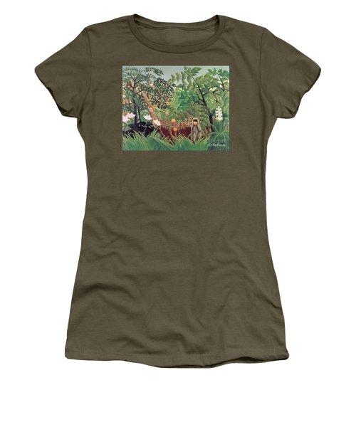 Exotic Landscape Women's T-Shirt