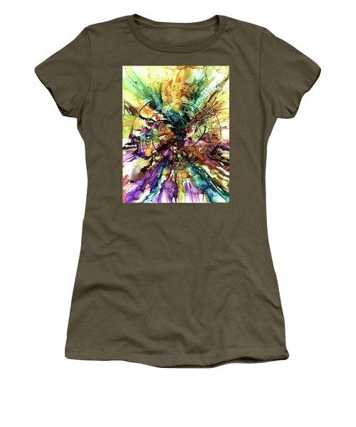 Expanding Universe Women's T-Shirt (Junior Cut) by Alika Kumar