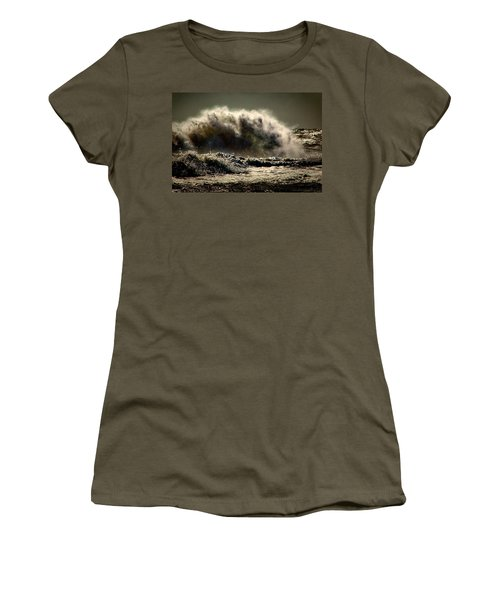 Explosion In The Ocean Women's T-Shirt