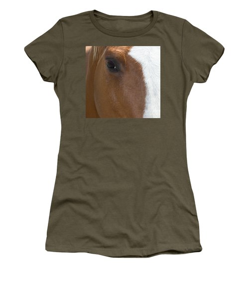 Eye On You Horse Women's T-Shirt (Athletic Fit)