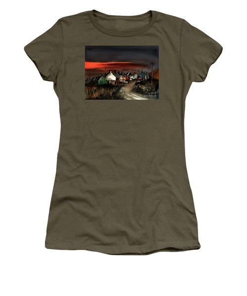 Cork Beara Eyeries Sunset Beara Women's T-Shirt
