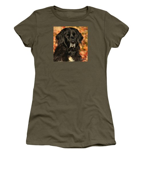 Women's T-Shirt (Junior Cut) featuring the photograph Eyes Of Autumn by Debbie Stahre