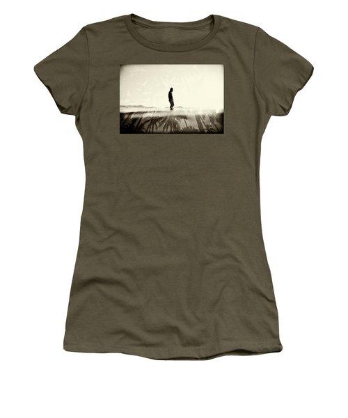 Face The Sun 2 Women's T-Shirt (Athletic Fit)