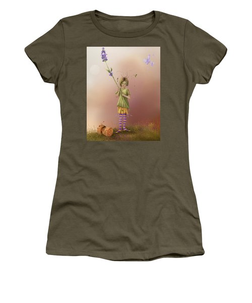 Fairy Bella Lavender Women's T-Shirt (Athletic Fit)