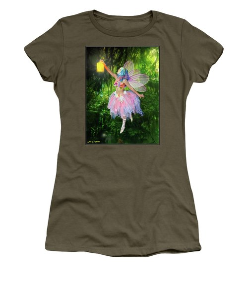 Fairy With Light Women's T-Shirt (Athletic Fit)