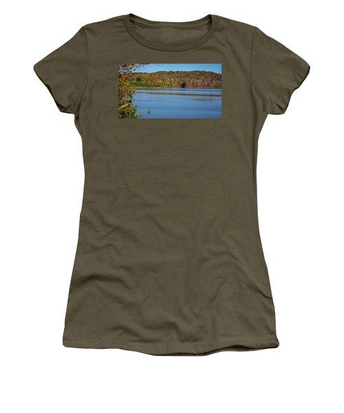 Fall Color At Lake Zwerner Women's T-Shirt