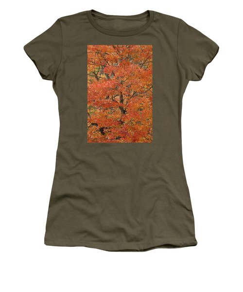 Fall Color Women's T-Shirt (Athletic Fit)