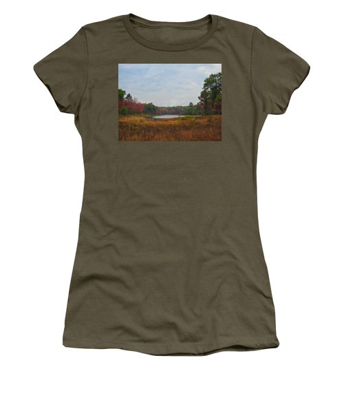 Fall Colors At Gladwin 4459 Women's T-Shirt