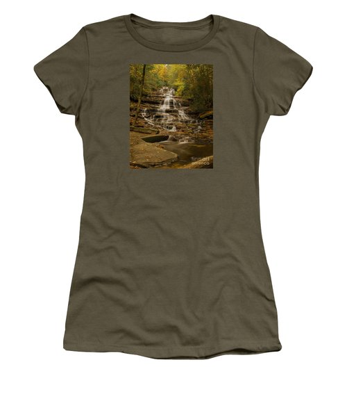 Fall Colors At Minnehaha Falls Women's T-Shirt (Athletic Fit)