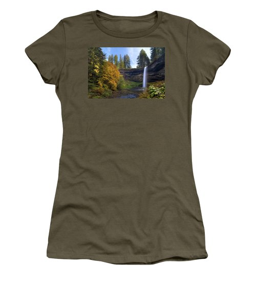 Fall Colors At South Falls Women's T-Shirt