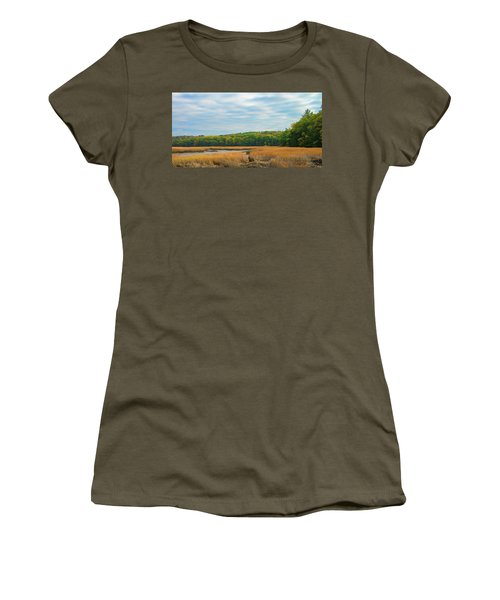 Fall Colors In Edgecomb Women's T-Shirt