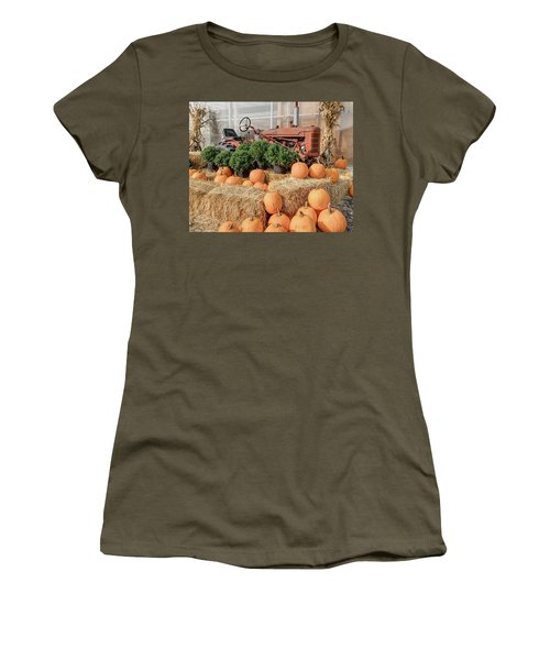 Fall Display Women's T-Shirt (Athletic Fit)