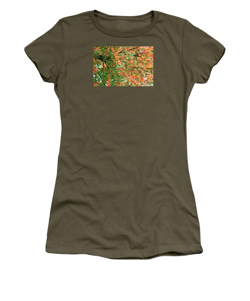 Fall Festivities Women's T-Shirt (Athletic Fit)