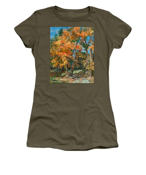 Fall Glory Women's T-Shirt (Athletic Fit)
