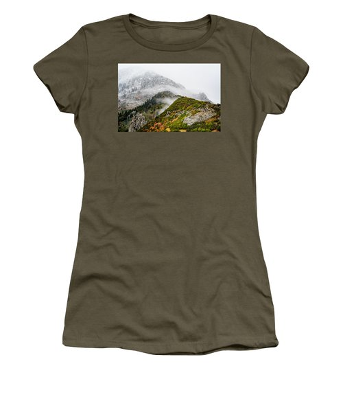 Fall Into Winter Women's T-Shirt (Athletic Fit)