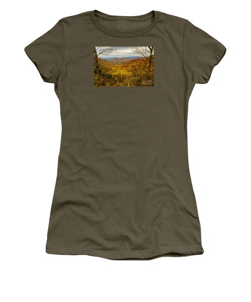 Fall Mountain Overlook Women's T-Shirt (Athletic Fit)