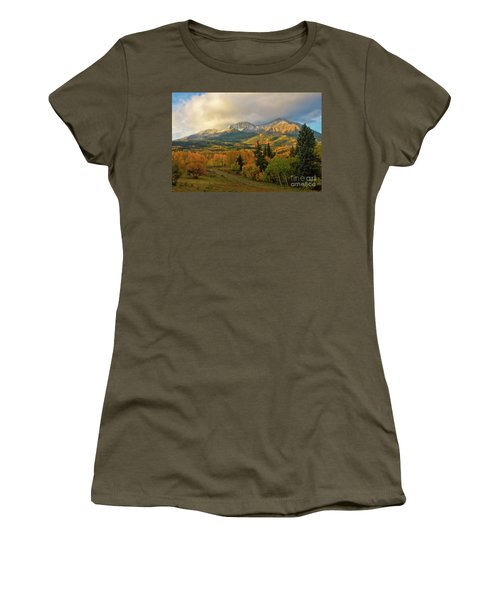 Fall On Mt Sopris  Women's T-Shirt