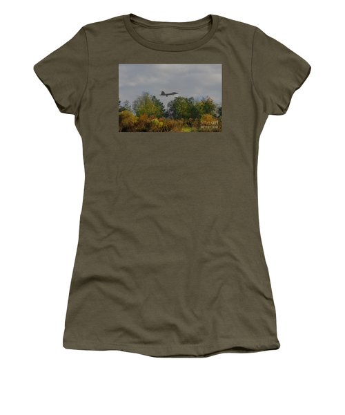 Fall Raptor Women's T-Shirt (Athletic Fit)