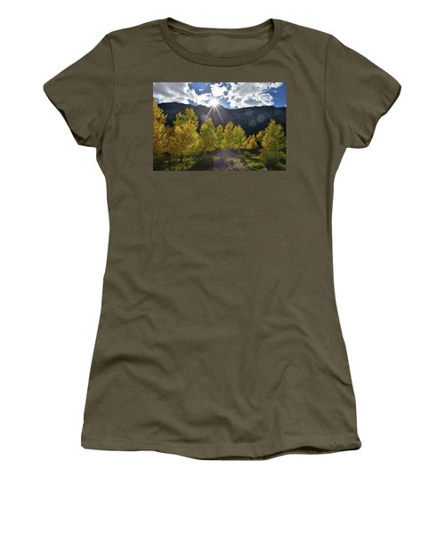 Fall Sun Setting Over Mt. Charleston Women's T-Shirt