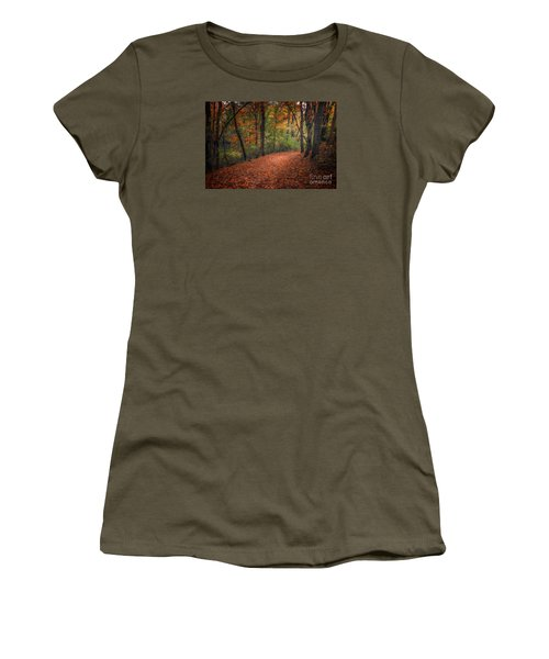 Fall Trail Women's T-Shirt (Athletic Fit)