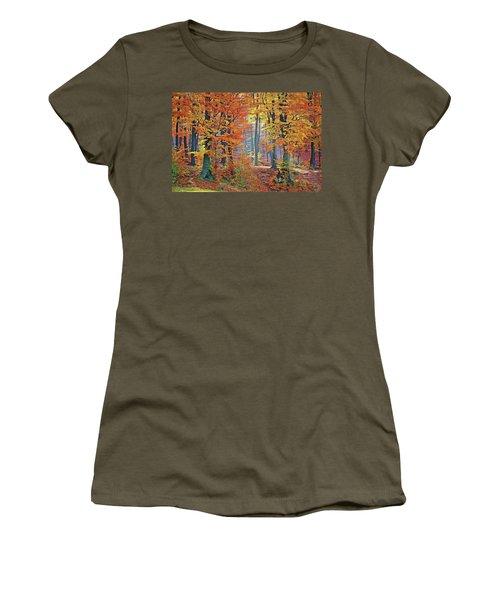 Fall Woods Women's T-Shirt