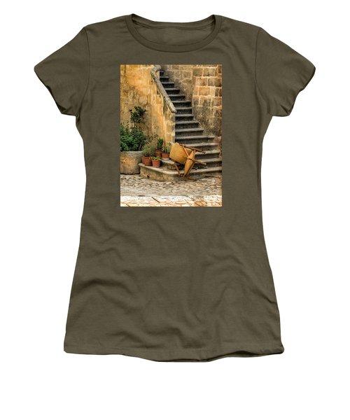 Fallen Chair Women's T-Shirt (Athletic Fit)