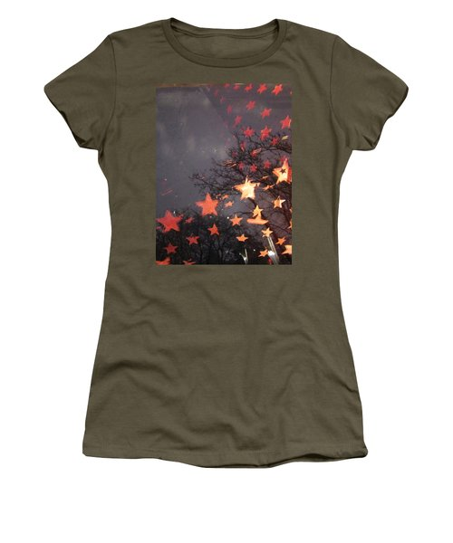 Falling Stars And I Wish.... Women's T-Shirt