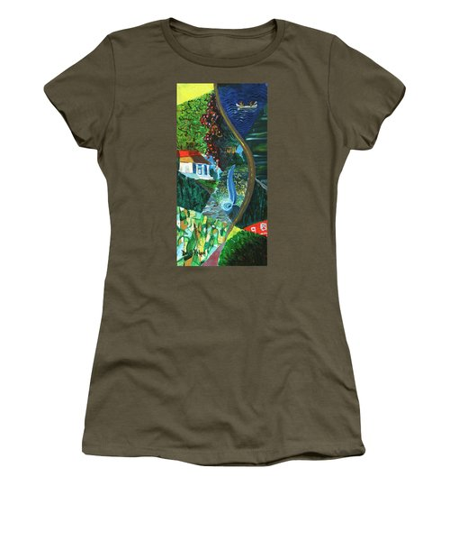 Falls, Fingers And Gorges Women's T-Shirt