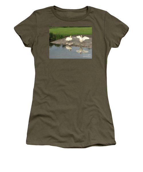 Family Outing Women's T-Shirt (Junior Cut) by David Grant