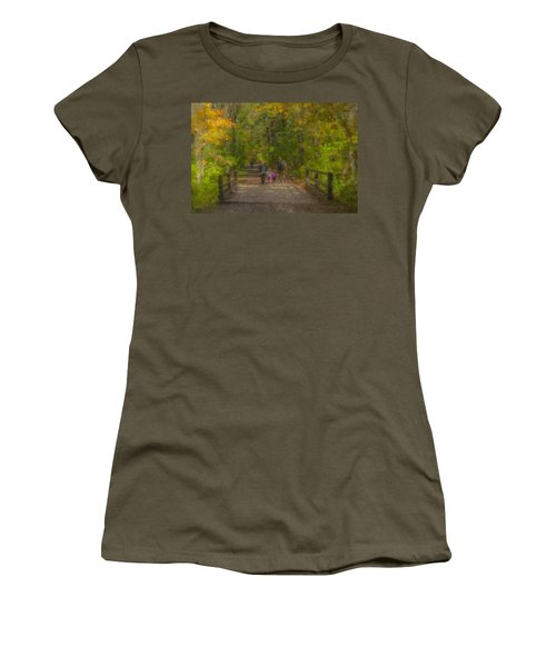 Family Walk At Borderland Women's T-Shirt
