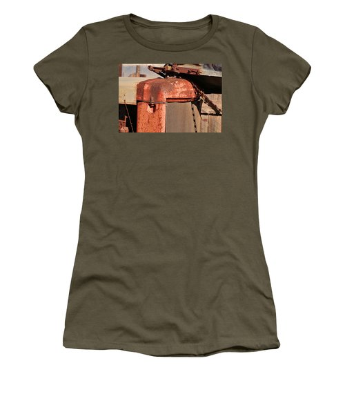 Women's T-Shirt (Junior Cut) featuring the photograph Farm Equipment 8 by Ely Arsha