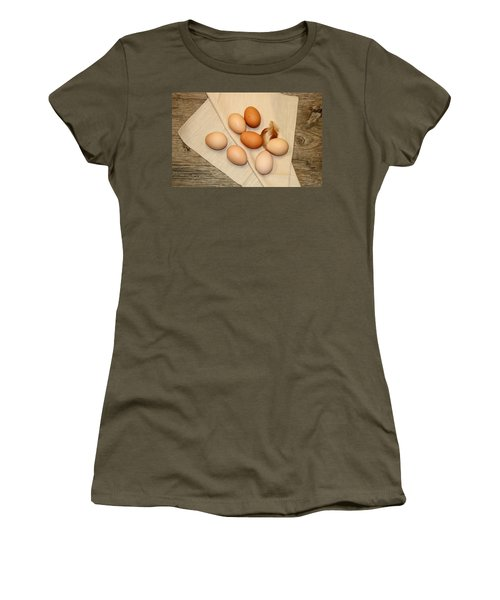 Farm Fresh Eggs Women's T-Shirt