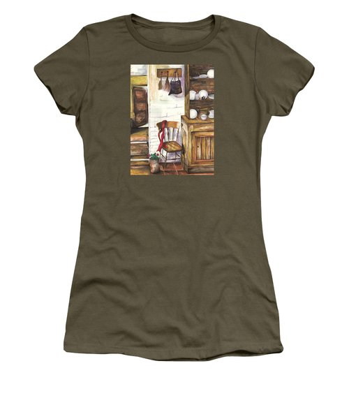 Farm House Women's T-Shirt (Junior Cut)