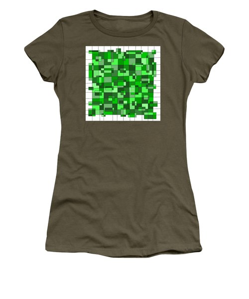 Farmer Green Women's T-Shirt (Junior Cut) by Jeff Gater