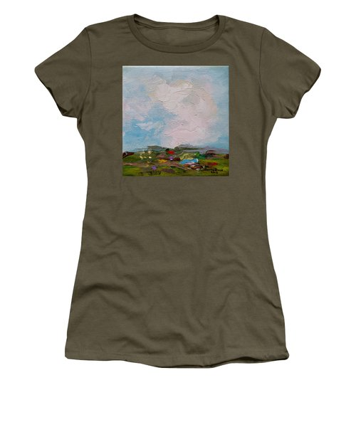Farmland II Women's T-Shirt (Athletic Fit)