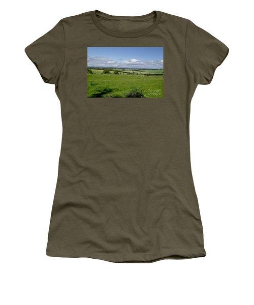 Farmland In Beecraigs. Women's T-Shirt