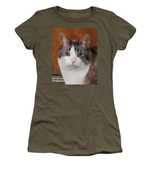 Fat Cats Of Ballard 3 Women's T-Shirt (Athletic Fit)